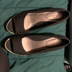 Kelly & Katie open toed size 8 1/2 pumps